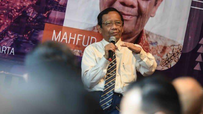 Mahfud MD Singgung Penegak Hukum Rekayasa Pasal dan Perdagangkan Hukum