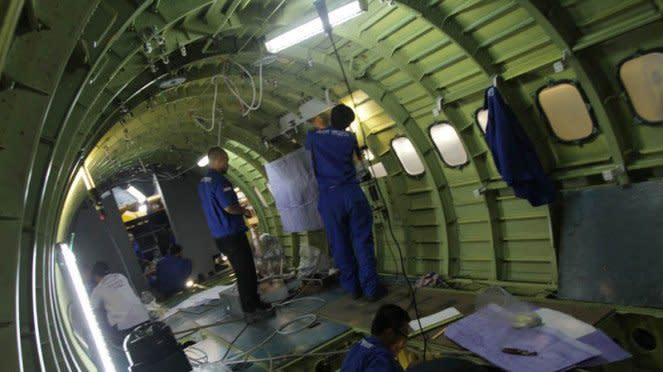 Pembuatan Pesawat di PT Dirgantara Indonesia
