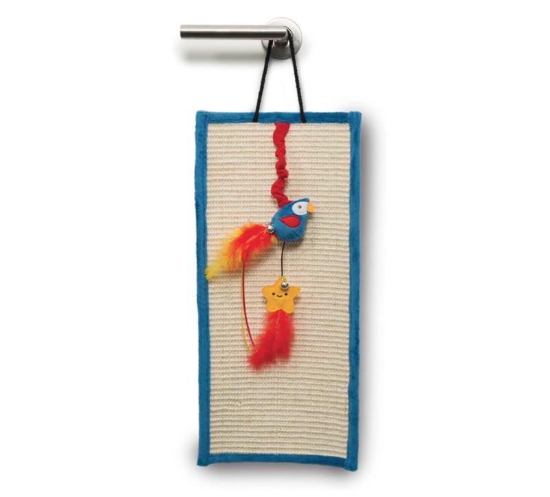 Catit Play Pirates Door Hanger with Catnip. Image via Amazon.