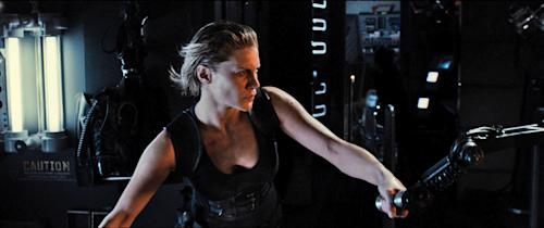 Katee Sackhoff Comes Clean About Seeking Parental Guidance for 'Riddick' Shower Scene