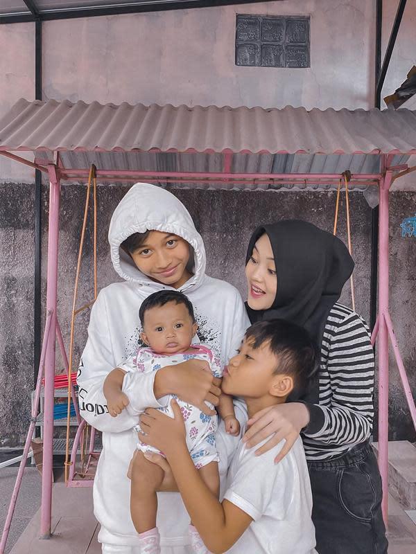 Bayi mendingan Lina (Sumber: Instagram/rizwanfadilah.a.s)