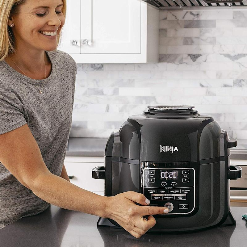 Trade in your Instant Pot for a Ninja Foodi. (Photo: Walmart)