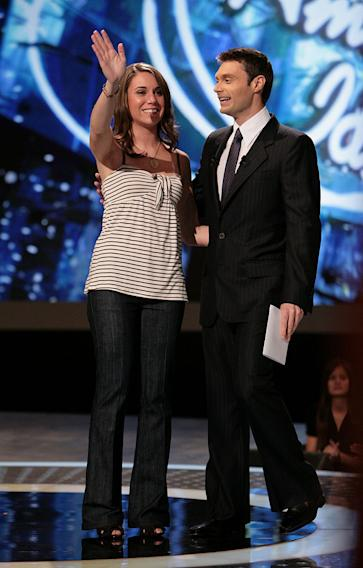 Nicole Tranquillo gets voted off on Season 6 of American Idol.