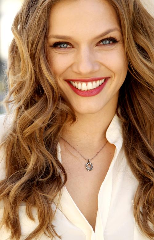 "This April 16, 2013 photo shows actress Tracy Spiridakos posing for a portrait in Los Angeles. Spiridakos stars in the NBC series, ""Revolution,"" airing Mondays at 10 p.m. EST. (Photo by Matt Sayles/Invision/AP)"