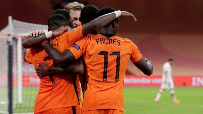 Timnas Belanda di UEFA Nations League