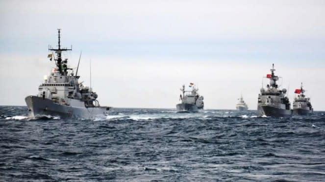 VIVA Militer: Armada tempur Angkatan Laut Turki di Laut Mediterania