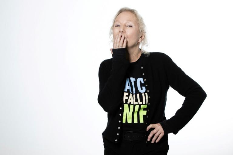 French fashion designer Agnes b. is optimistic about the post-virus world