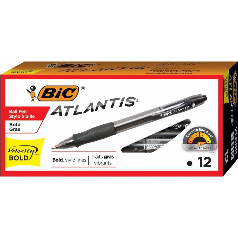 BIC Velocity Bold Retractable Ball Pen. (Photo: Amazon)