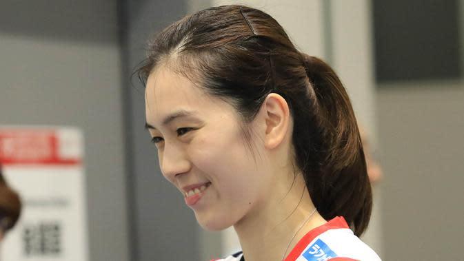 Tunggal putri Jepang, Aya Ohori. (PBSI)