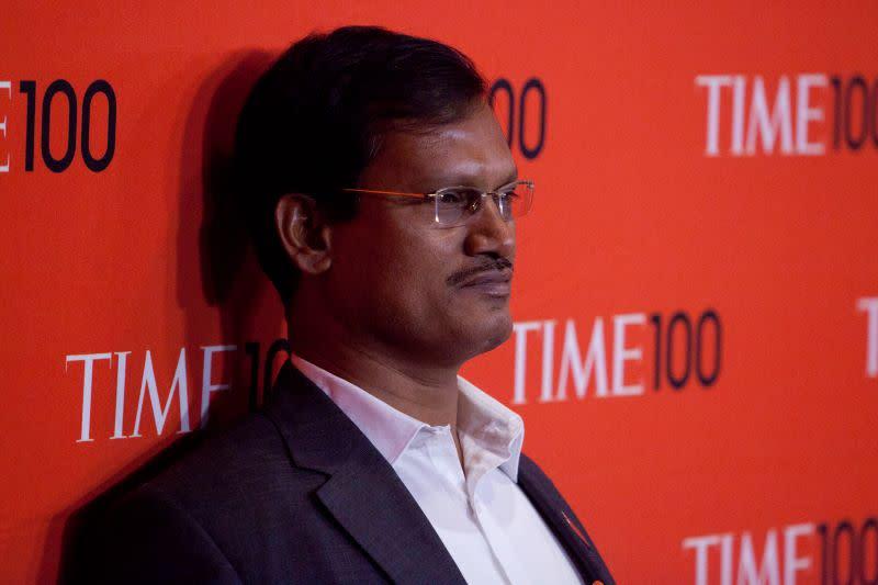Arunachalam Muruganantham at Time100 gala