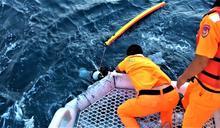 海巡經驗老到 成功救起澎湖南方四島失蹤潛水遊客