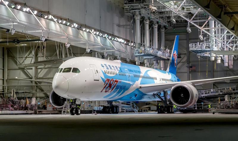 (圖/翻攝自臉書The Boeing Company)