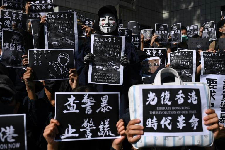 Protesters in Hong Kong have called for more demonstrations following the death of 22-year-old Chow