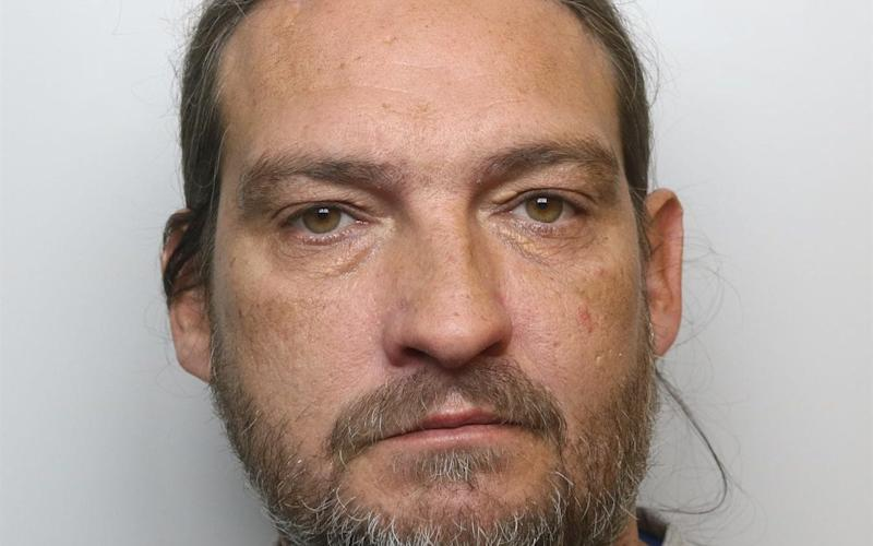 Mark Royden, from Canterbury, Kent, was convicted of using a hammer to smash the security case holding the historic document at Salisbury Cathedral on October 25, 2018. - PA