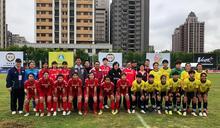 2021台灣木蘭足球聯賽桃園主場首戰開打 鄭文燦現場加油期勉桃園隊創佳績