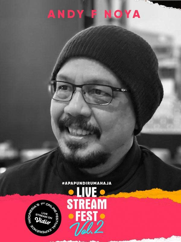 Andy F Noya akan hadir meramaikan Live Stream Fest Vol.2 dalam program Live Talks (FOTO: Samara)