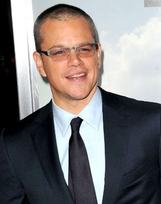 Matt Damon joins Clooney's all-star thriller