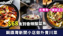 【銅鑼灣外賣】新開川菜小店做外賣川菜 $68食到香辣酸菜魚
