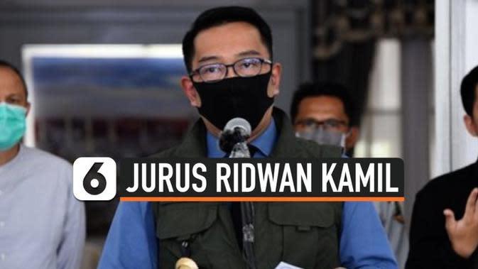 VIDEO: Gebrakan Ridwan Kamil Tangani Corona di Jawa Barat
