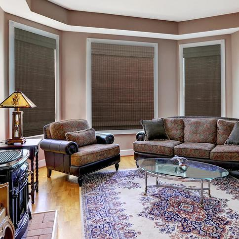 Home Decorators Collection Cut To Size Espresso Cordless Light Filtering Uv Protection Bamboo Shades 65 5 In W X 48 In L Brown Yahoo Shopping