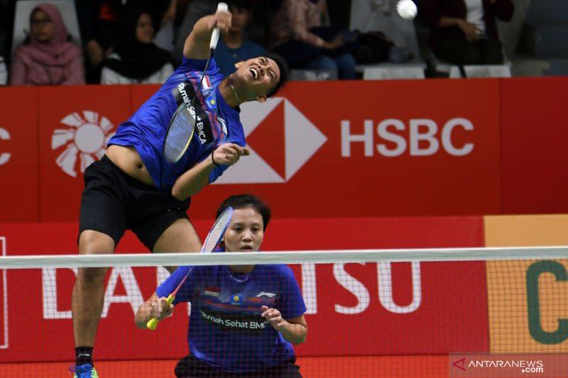 Alfian/Annisa lanjut ke babak dua Indonesia Masters