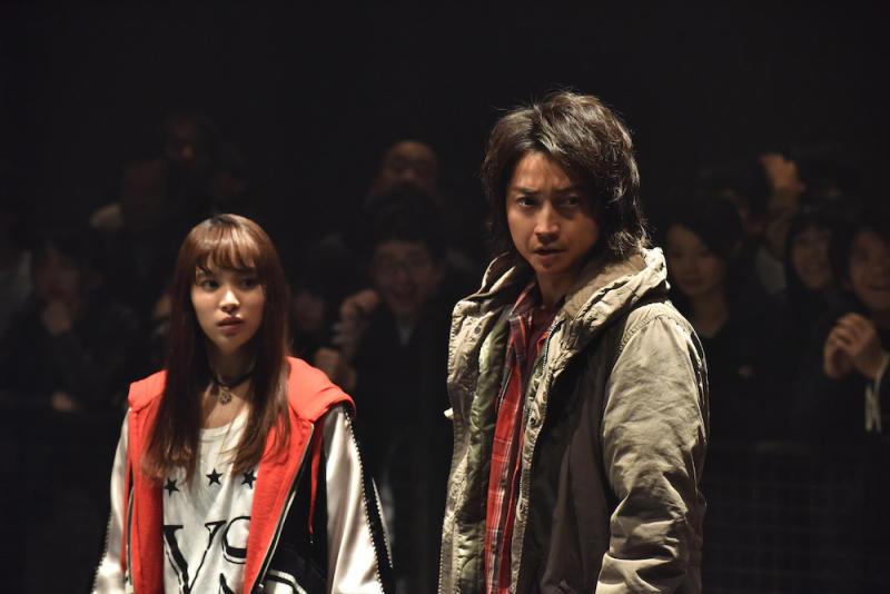 Kanako Kirino (Nagisa Sekimizu) allies with Kaiji Ito (Tatsuya Fujiawara) in Kaiji: Final Game. (PHOTO: Encore Films)