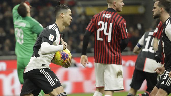 2 Bukti AC Milan Sedang Apes Lawan Juventus