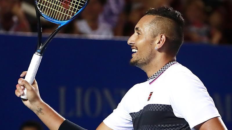 Nick Kyrgios beats Alexander Zverev to win Mexico Open