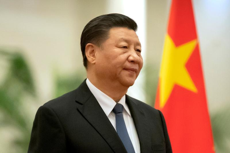 Chinese President Xi Jinping was thankful to the UK after its donation of medical supplies (AP)