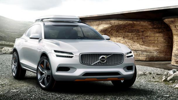 Volvo's Concept XC Coupe seeks adventure in Detroit