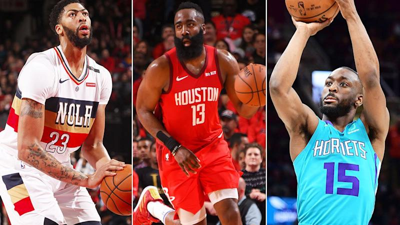 Anthony Davis, James Harden and Kemba Walker are sure to wow Australian crowds during FIBA World Cup warm-up games.