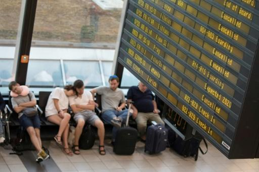The strikes affected tens of thousands of passengers