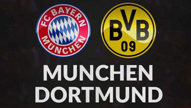 Piala Super Jerman - Bayern Munchen Vs Borussia Dortmund (Bola.com/Adreanus Titus)