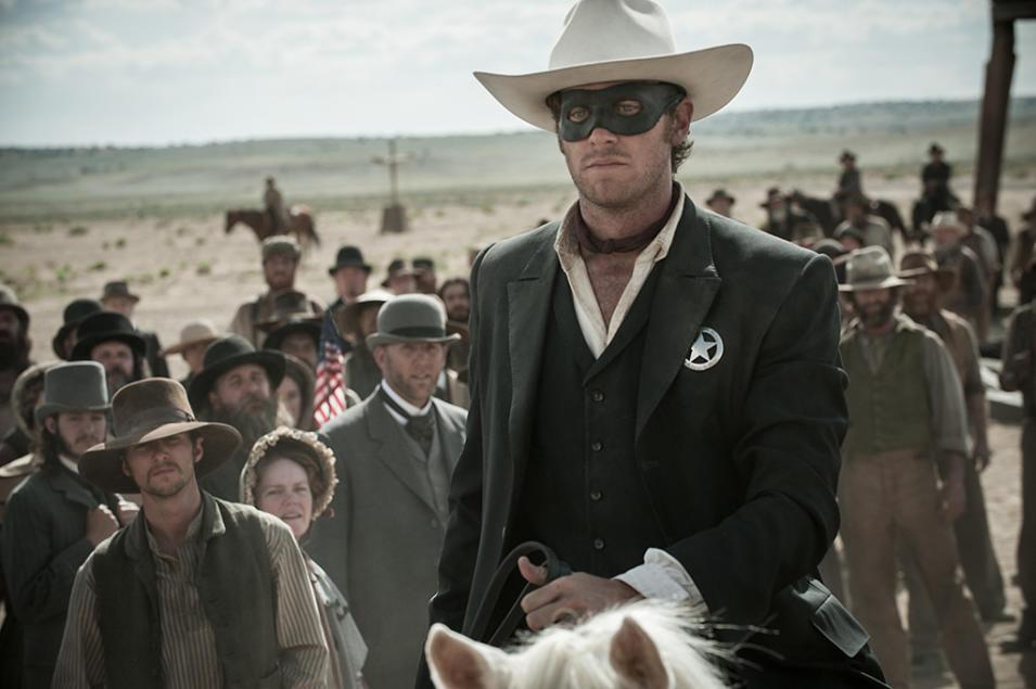 The Lone Ranger Movie Still