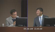 快新聞/答詢遭嗆蔣萬安當市長「比你好」 陳時中風度回:應該是的