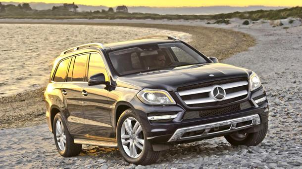 The 2013 Mercedes-Benz GL-Class, one fast nanny: Motoramic Drives