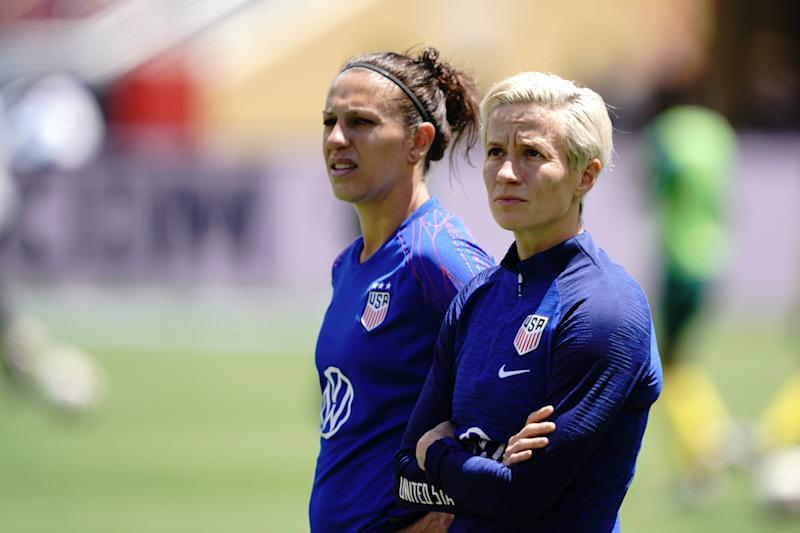 3fdf6b8e1 How is the USWNT s equal pay fight going  Ask them after the Women s ...