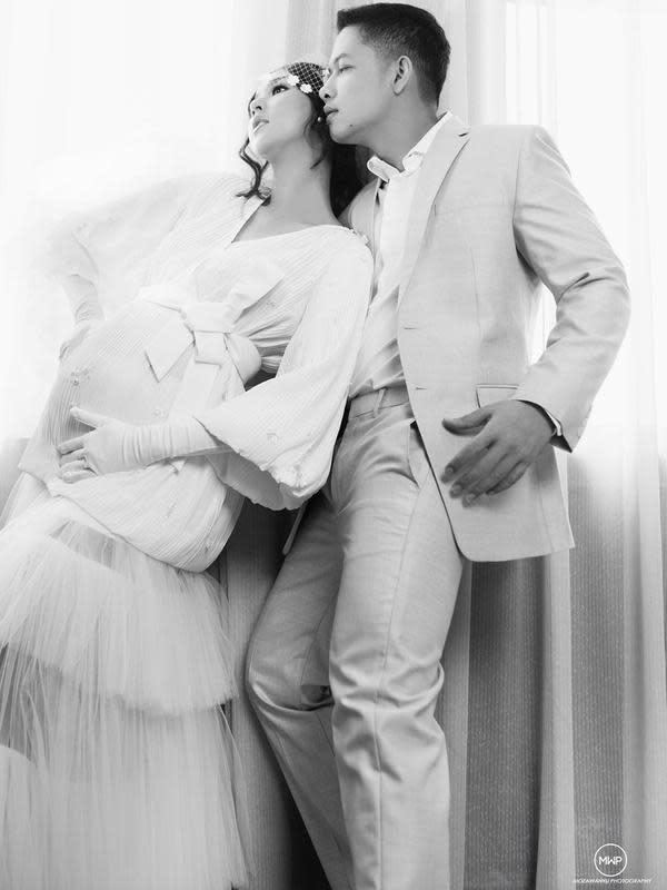 Maternity shoot Kevin Lilliana dan Oskar Mahendra (Sumber: Instagram/tommypancamurti)