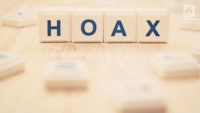 Ilustrasi hoax (iStockPhoto)