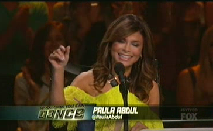 Paula Abdul Reunites With 'Live to Dance' Protégé on 'SYTYCD'