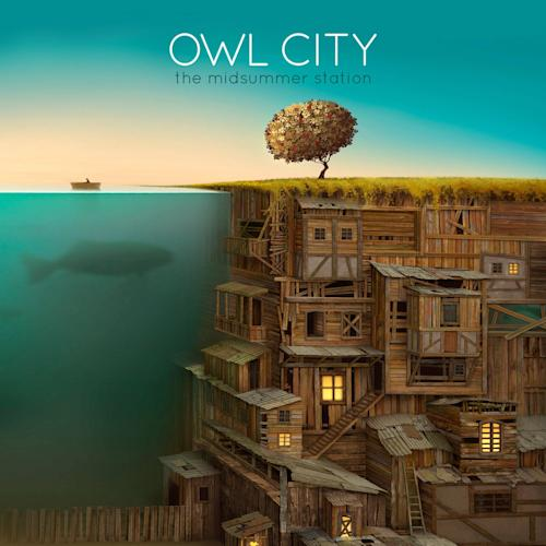 "This CD cover image released by Universal Republic Records shows the latest release by Owl City, ""The Midsummer Station."" (AP Photo/Universal Republic Records)"