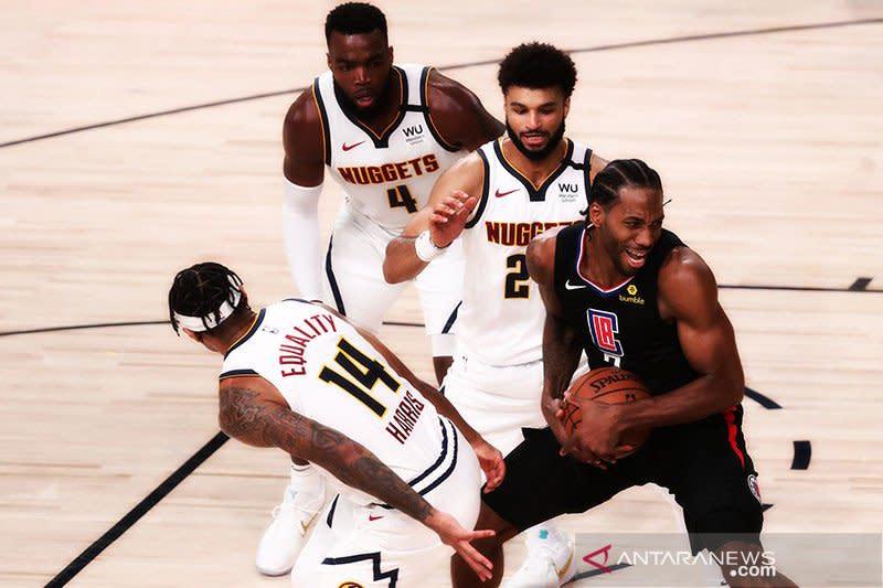 Nuggets samakan kedudukan menjadi 1-1 atas Clippers