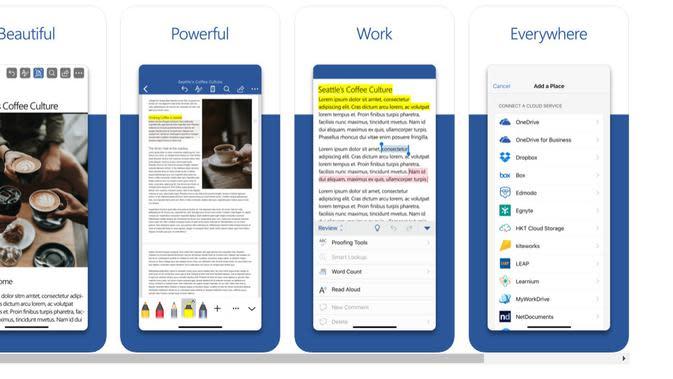Aplikasi Microsoft Office di iOS Dapat Pembaruan Tampilan