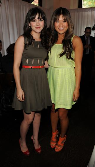 Shannon Woodward and Jenna Ushkowitz
