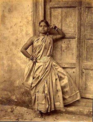 sari worn during indus valley civilisation period