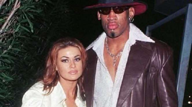 Dennis Rodman dan Carmen Electra