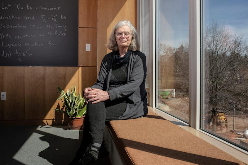 Karen Uhlenbeck at the Institute for Advanced Study in Princeton, N.J., March 27, 2019. | Bryan Anselm—The New York Times/Redux