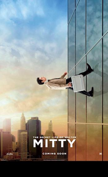 The Secret Life of Walter Mitty Building Poster
