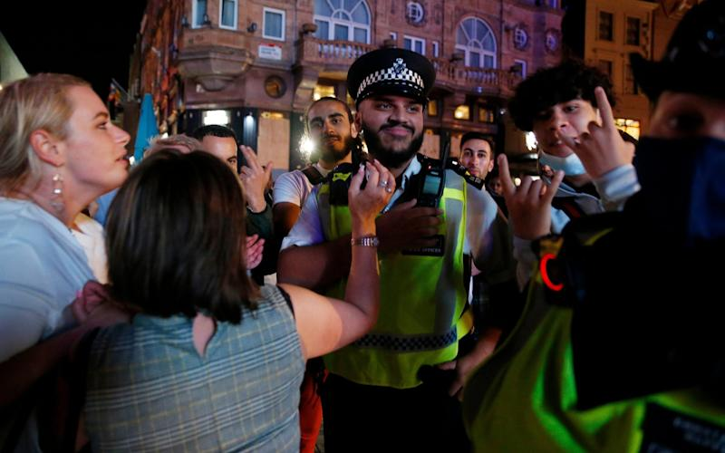 Police have been criticised for failing to enforce lockdown rules - GETTY IMAGES