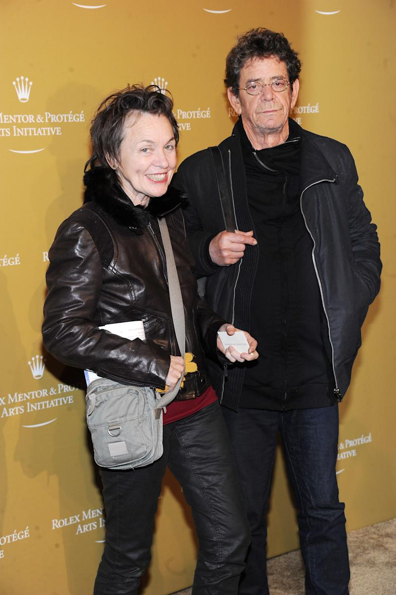 Laurie Anderson Pens Uplifting Obit for Late Husband Lou Reed